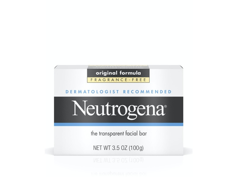 Neutrogena Original Fragrance-Free Transparent Facial Bar
