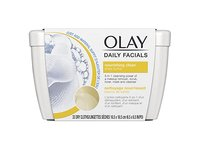 Olay Daily Facial Nourishing Cleansing Cloths Tub with Shea Butter Makeup Remover, 33 ct - Image 2