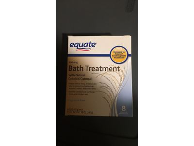 Equate Calming Bath Treatment, 8ct - Image 3