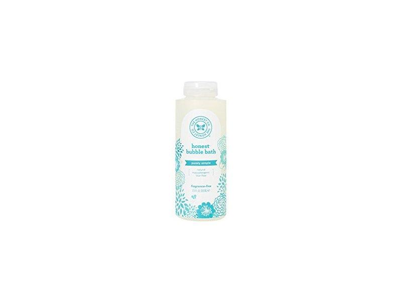 Honest Purely Simple Hypoallergenic Bubble Bath, 12 Fluid Ounce