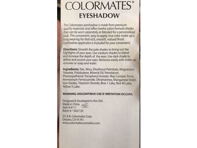Colormates Eyeshadow Palette, Flower Bouquet - Image 4