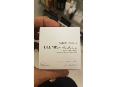 bareMinerals Blemish Rescue Skin-Clearing Loose Powder Foundation, Medium Beige, .21 oz - Image 3
