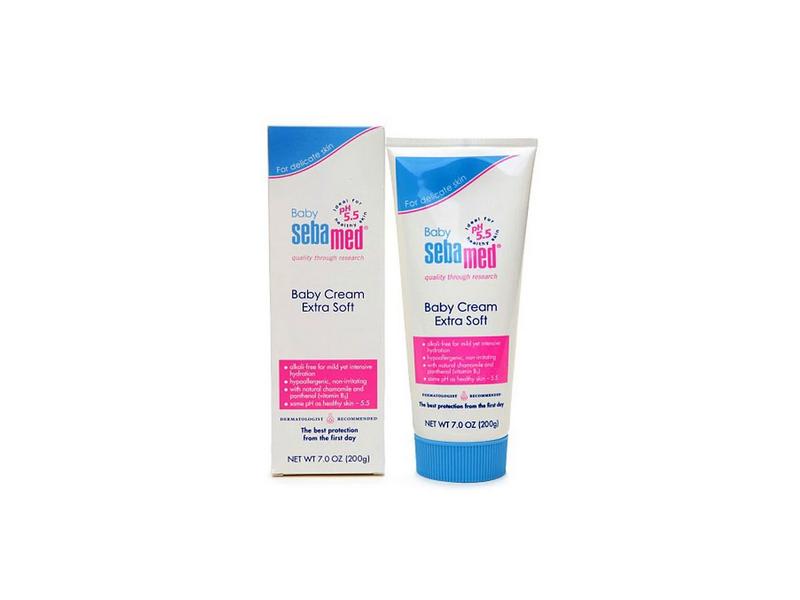 SebaMed Baby Cream Extra Soft, 7.0 oz (200 g)