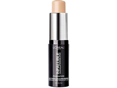 L'Oreal Paris Makeup Infallible Longwear Foundation Shaping Stick 401 Ivory, 0.3 oz.