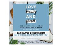 Love Beauty and Planet Coconut Water Shampoo + Conditioner Bar, 4 oz - Image 2