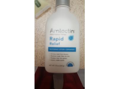 Amlactin Rapid Relief Restoring Lotion + Ceramides, 7.9 Ounce - Image 3