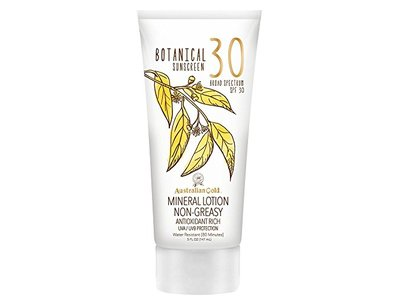 Australian Gold Botanical Sunscreen SPF 30 Mineral Lotion, 5 Fl Oz