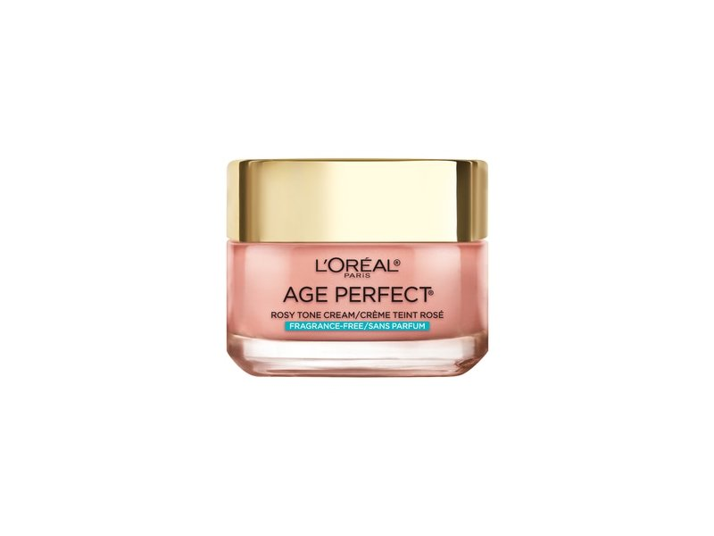 L'Oreal Paris Age Perfect Rosy Tone- Fragrance Free Face Moisturizer