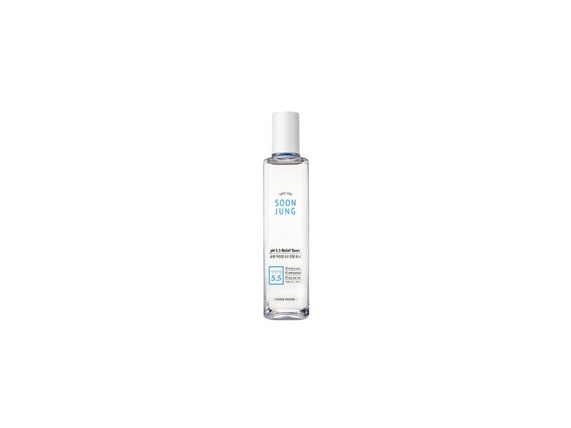 Etude House SoonJung pH 5.5 Relief Toner, 180ml