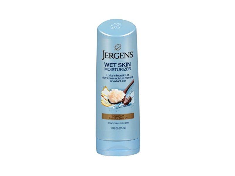 Jergens Wet Skin Moisturizer, Shea Oil, 10 fl oz