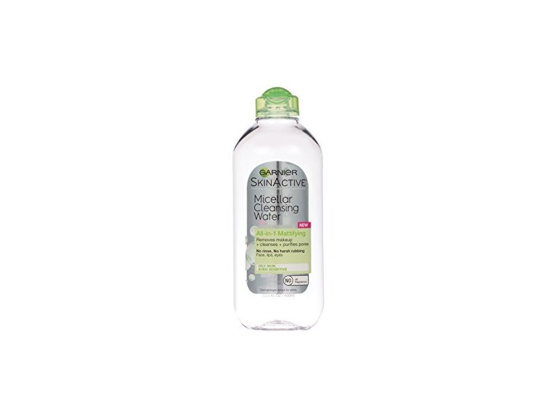 Garnier SkinActive Micellar Cleansing Water All-in-1 for Combination to Oily Skin, 400 ml