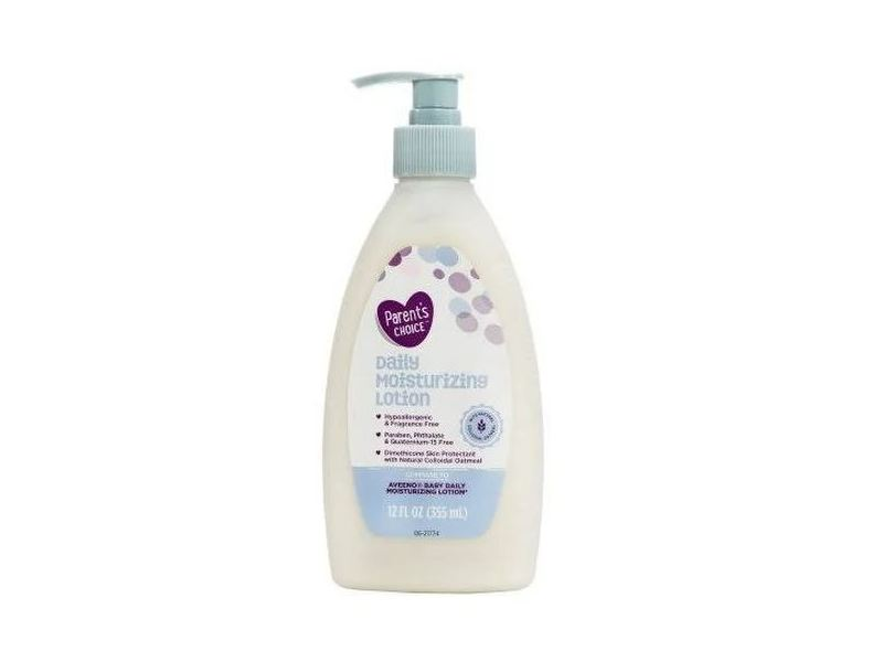 Parent's Choice Daily Moisturizing Lotion, 12 fl oz