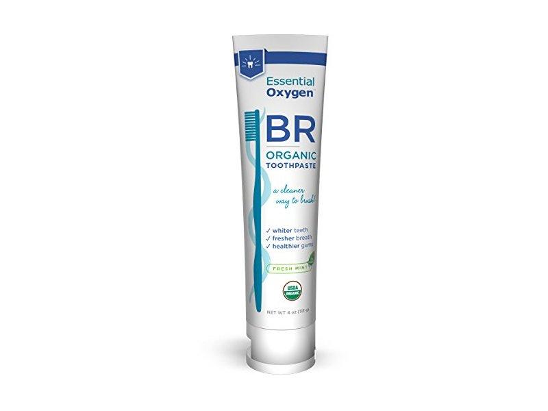 Essential Oxygen Organic Mint Toothpaste, 0.02 Pound