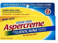 Aspercreme With Lidocaine, Maximum Strength, Odor Free, 4.7 oz/133 g - Image 2
