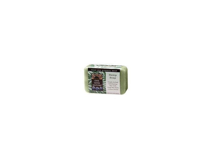 One With Nature Soap Bar Peppermint