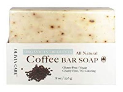 Olivia Care All Natural Bar Soap, Coffee, 8 oz