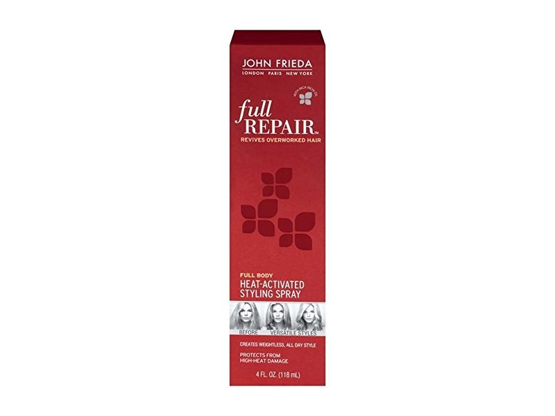 John Frieda Full Repair Style Revival Heat-activated Styling Spray, John Frieda