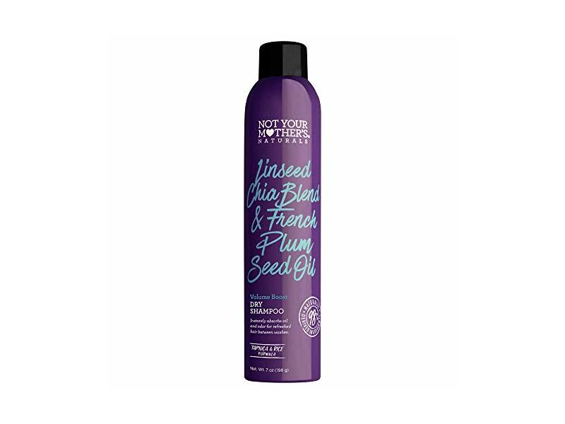 Not Your Mother's Naturals Linseed Chia Blend & French Plum Seed Oil Volume Boost Dry Shampoo 7oz, pack of 1
