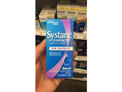 Systane Contacts Lubricant Eye Drops, .41 oz - Image 3
