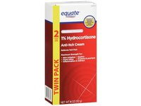 Equate1% Hydrocortisone Anti-itch Cream, 4 oz - Image 2