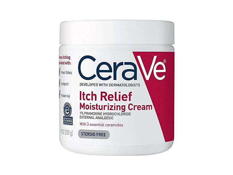 CeraVe Moisturizing Cream for Itch Relief | 19 Ounce