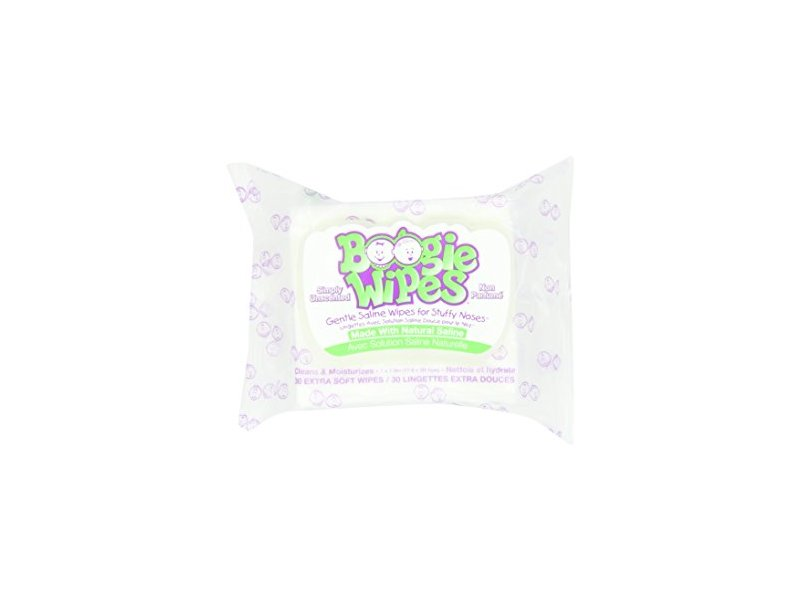Boogie Wipes, Unscented, 90 count