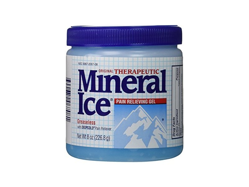 Mineral Ice Pain Relieving Gel, 8 oz