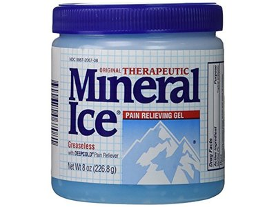 Mineral Ice Pain Relieving Gel, 8 oz - Image 1