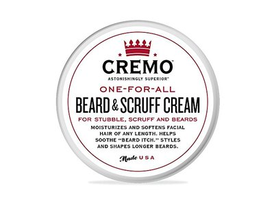 Cremo One-for-All Beard & Scruff Cream, 4 oz