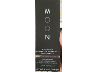 Moon Whitening Activated Charcoal Toothpaste, Fluoride-Free, Lunar Peppermint, 4.2 oz /119 g - Image 3
