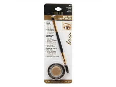 Milani Stay Put Brow Color, Brunette, 0.09 Ounce