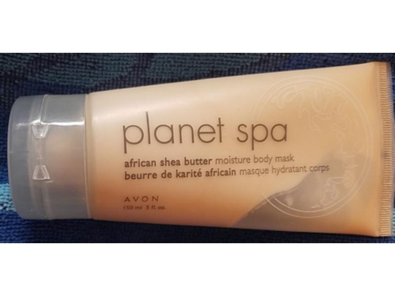Avon Planet Spa African Shea Butter Body Mask, 5 fl oz/150 ml
