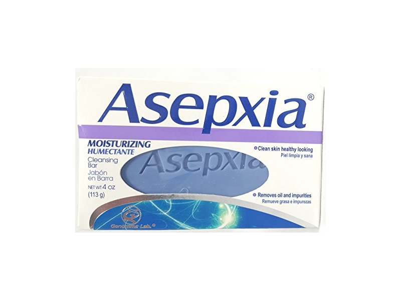 ASEPXIA Cleansing Moisturizing Bar with Moisturizers, Cleansers & Conditioners, 4 oz