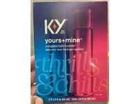 K-Y Yours + Mine Couples Lubricants, Thrills Schills, 3 fl oz / 88 mL - Image 3