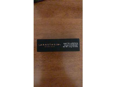 Anastasia Beverly Hills Matte Lipstick, Dusty Mauve, 0.12 oz - Image 3
