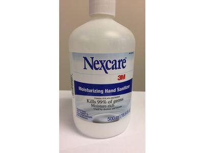 Nexcare 3m Moisturizing Hand Sanitizer 16 9 Fl Oz