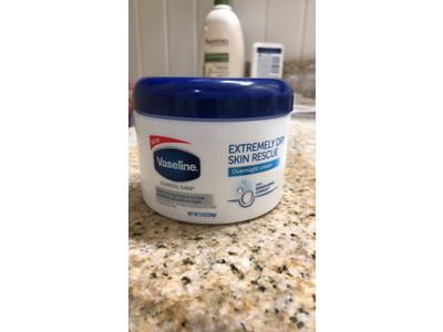 Vaseline Extremely Dry Skin Rescue, Overnight Cream, 21 oz - Image 3