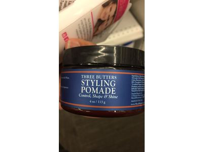 SheaMoisture for Men Three Butters Styling Pomade, 4 oz - Image 3