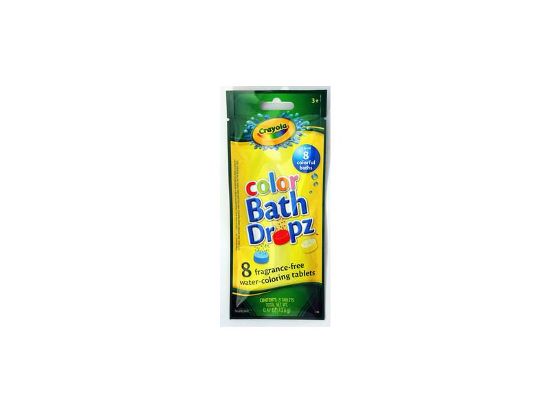 Crayola Color Bath Dropz, .48 oz