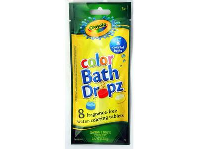 Crayola Color Bath Dropz, .48 oz - Image 1