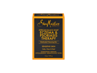 SheaMoisture African Black Soap Eczema Psoriasis Medicated Cleanser for Sensitive Skin, 12 oz - Image 2