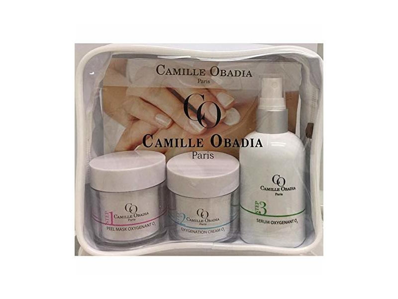 Beauty Kit for Hands by Camille Obadia Paris. 3 products in 1 kit. 50ml., 50ml., 120ml.