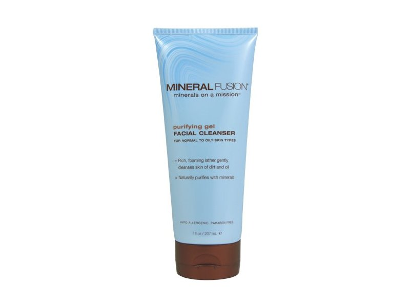 Mineral Fusion Natural Brands Purifying Gel Facial Cleanser 7 fl oz / 207 mL