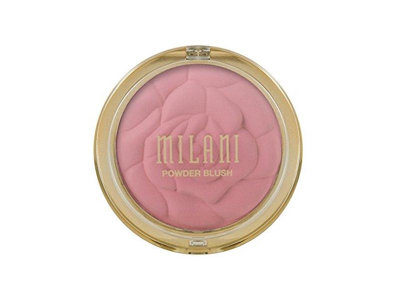 Milani Powder Blush, 01 Romantic Rose, 0.60 oz