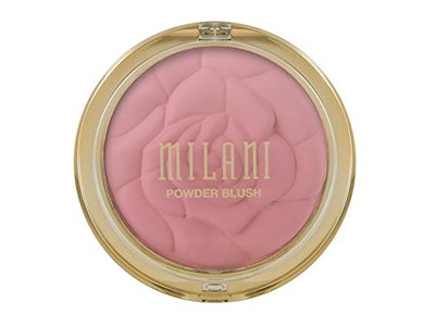 Milani Powder Blush, 01 Romantic Rose, 0.60 oz