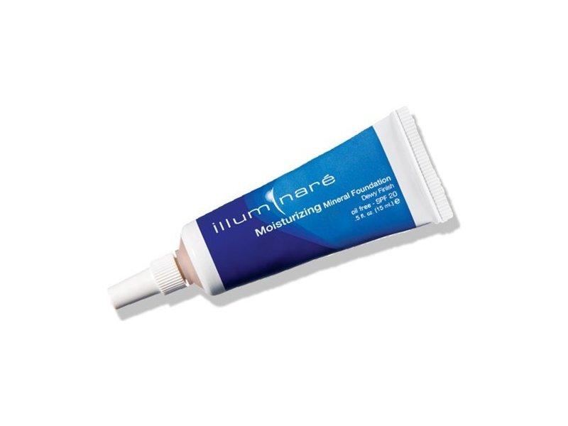 Illuminare Moisturizing Mineral Foundation Makeup SPf 20 Dewy Finish 15ml (Portofino Porcelain)
