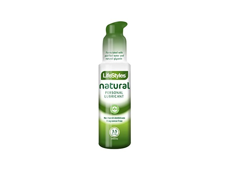Lifestyles Natural Personal Lubricant, 3.5 fl oz/100 mL