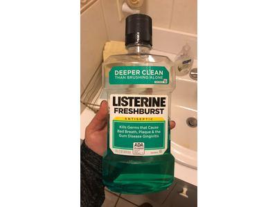 Listerine Antiseptic Mouthwash, Fresh Burst, 1 Liter - Image 3
