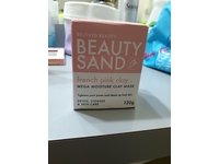 Beloved Beauty Beauty Sand French Pink Clay Mega Moisture Clay Mask, 120g - Image 3