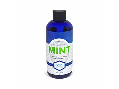 Coral Nano Silver Xylitol Mint Mouthwash,12 oz